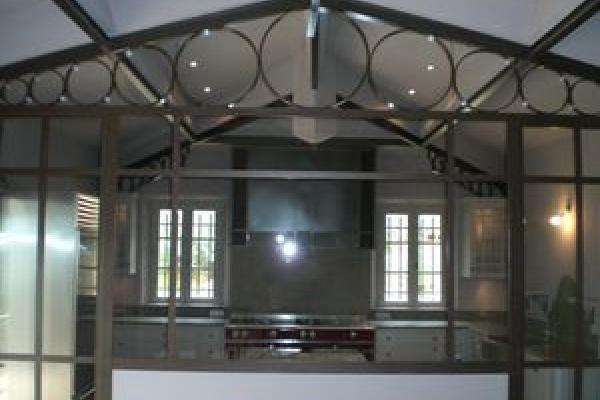 Création de cuisine style hall de gare - cuisine industrielle