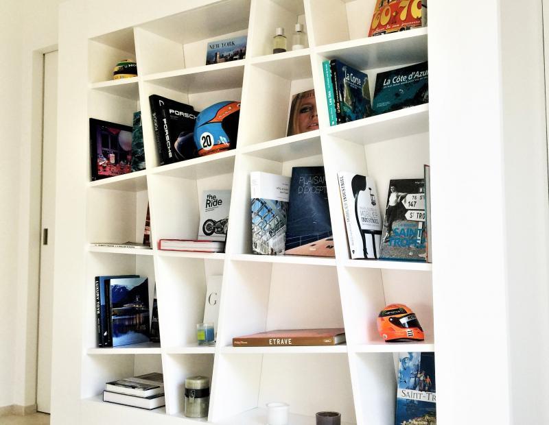 Fabrication de meuble bibliothèque sur mesure