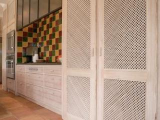 Création de cuisine en Mélèze