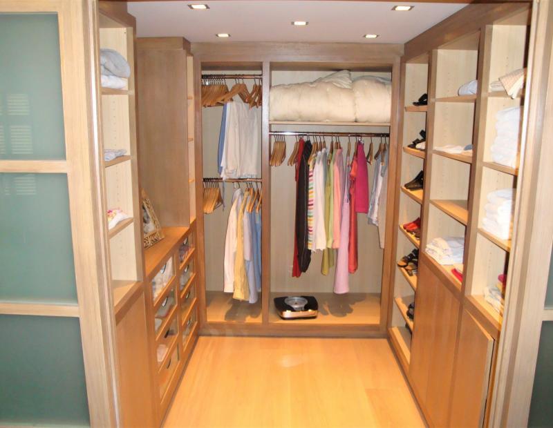 Conception de meuble dressing sur-mesure